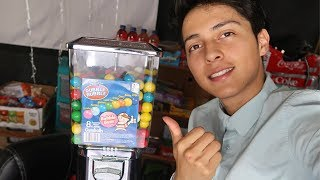 Starting A Gumball Machine Business At 18 Years Old! // 50k GIVEAWAY!