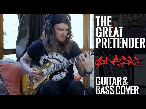 The Great Pretender – Slash, Myles Kennedy And The Conspirators (Guitar & Bass Cover)