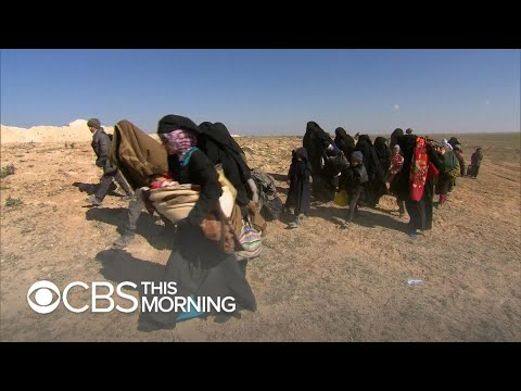 ISIS losing its human shields in final fight in eastern Syria Mp3