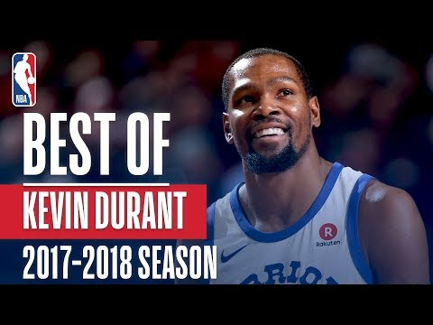 Kevin Durant's Best Plays of the 2017-2018 NBA Regular Season