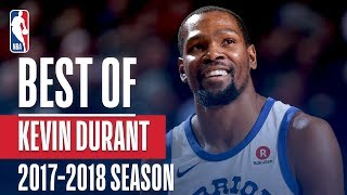 Kevin Durant s Best Plays of the 2017 2018 NBA Regular Season