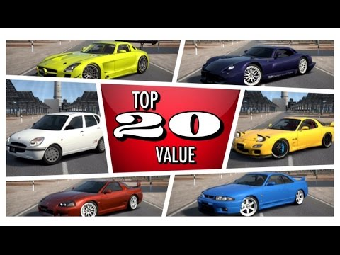 Top 20 Best Value For Money Cars On GranTurismo 6 [HSG Countdown]