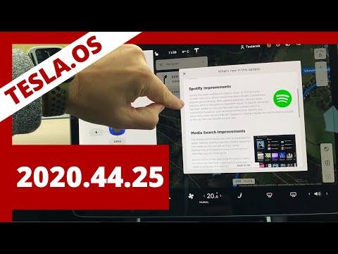 #247 TeslaOS FW 20.44.25 | Teslacek