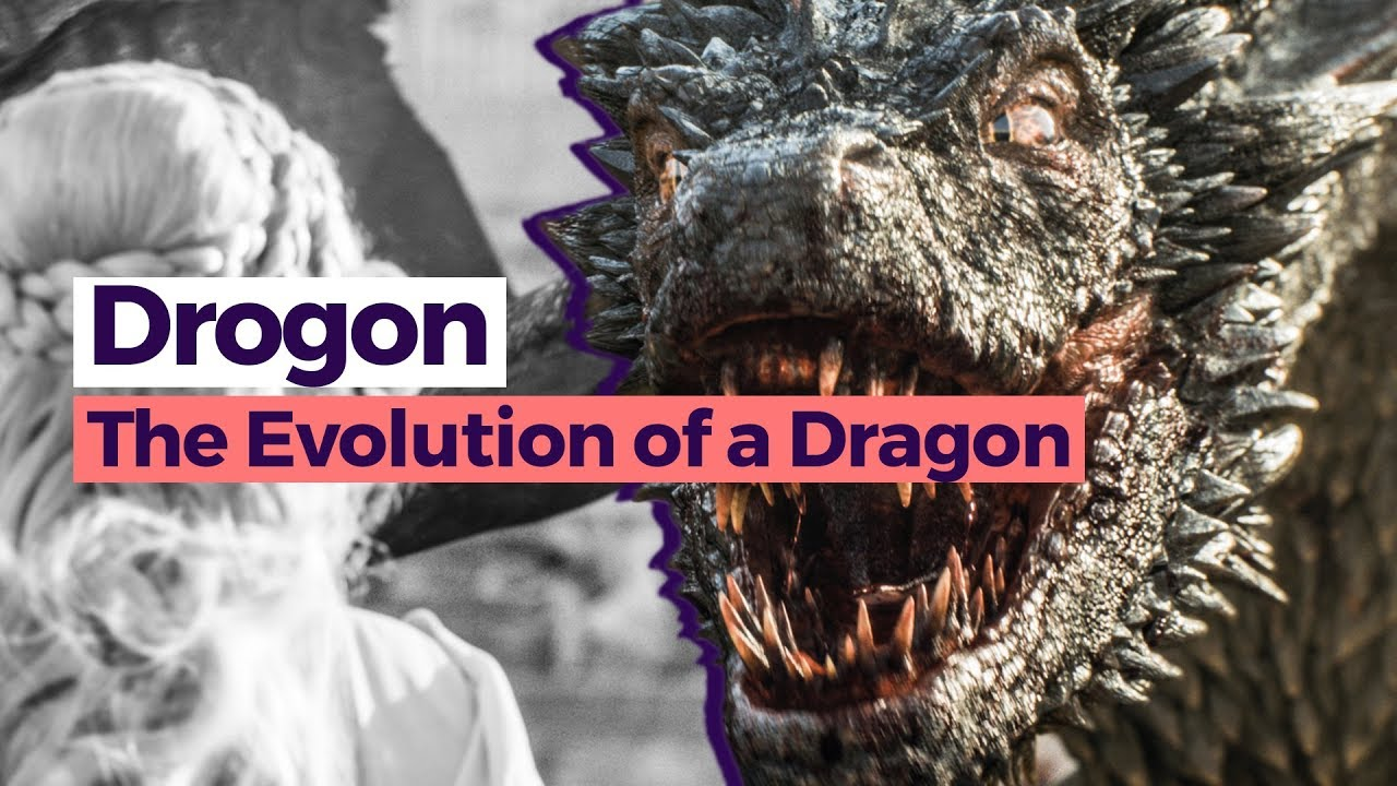 Evolution of Drogon - Game of Thrones Season 1 - 7