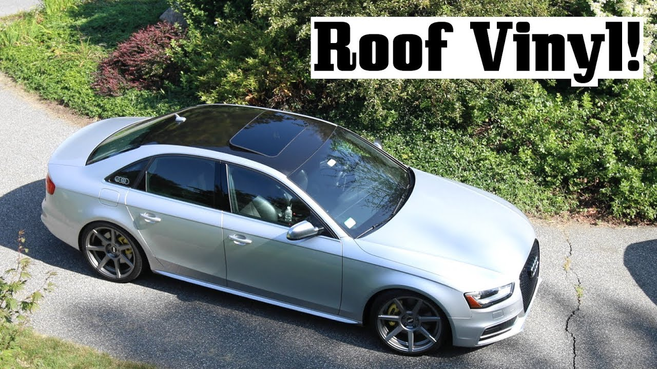 S4 Roof Vinyl Amp Other Car Hangs Youtube