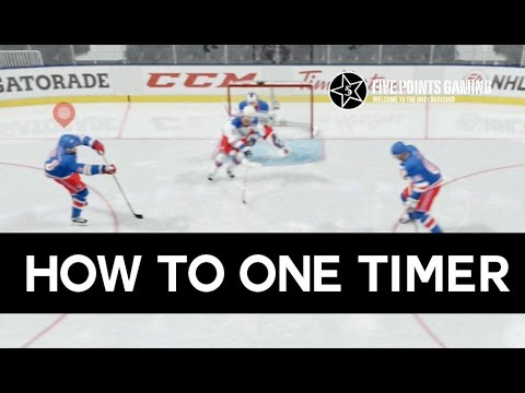 Ice hockey one timer tips to winning