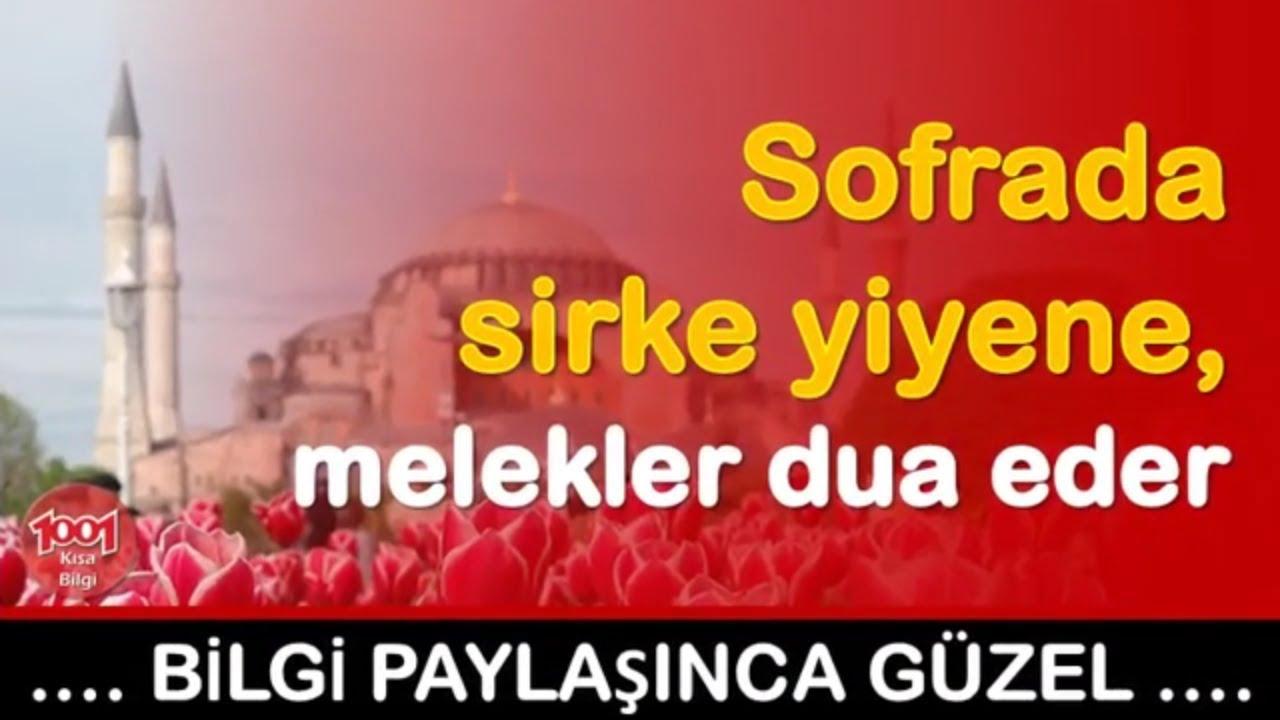 Sofrada Sirke Yiyene, Melekler Dua Eder