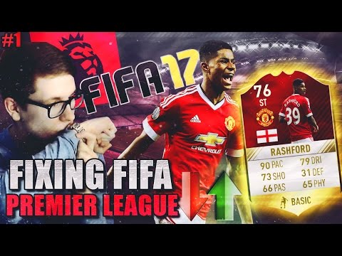 FIFA 17: FIXING PREMIER LEAGUE (DEUTSCH) - FIFA 17: ULTIMATE TEAM - RASHFORD! [IS THIS REAL?!] #1