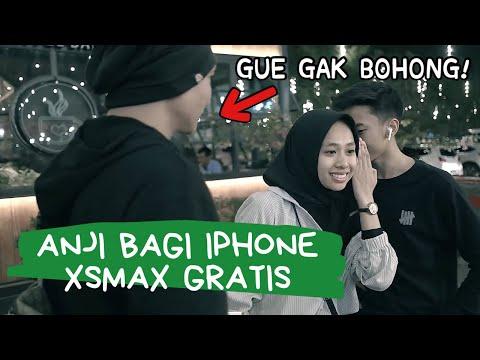 ANJI Ngasih iPhone XSMAX & XR GRATIS DI PVJ BANDUNG