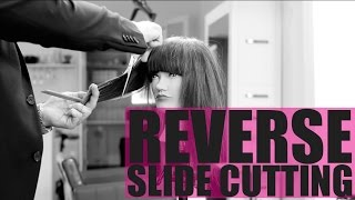 REVERSE Slide Cutting - Hair Cutting Technique