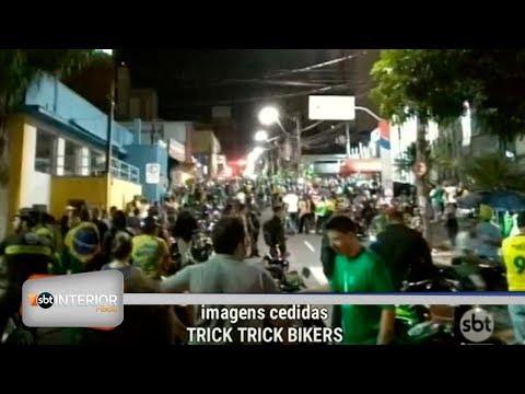 Ciclistas pedem ciclovias em Rio Preto e fazem manifestação