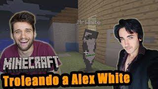 Minecraft Nintendo Switch | Troleando a Alex White en una casa trampa
