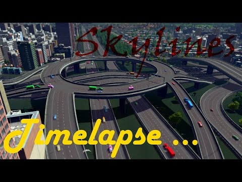 Cities Skylines - Cities in Motion (Skylines Timelapse) |