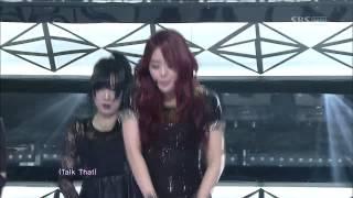 시크릿 (SECRET) [Talk That] @SBS Inkigayo 인기가요 20121209