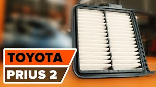 TOYOTA PRIUS C (NHP10_) mokomieji vaizdo įrašai - savarankiškas taisymas, kad automobilis visada veiktų