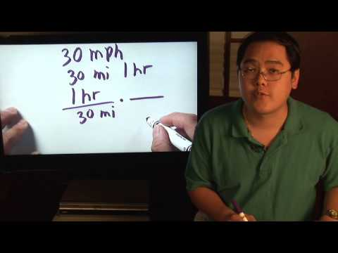 Math Lessons: How to Calculate Minutes Per Mile