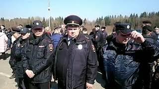"""Полигон """"Ядрово"""" 15 апреля"""