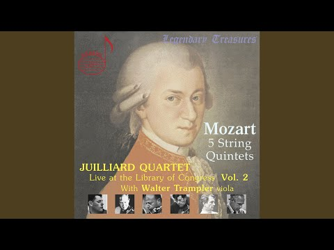 String Quintet No. 2 in C Minor, K. 406: II. Andante (Live)