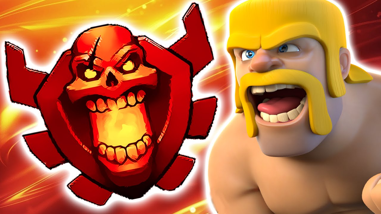 Clash Of Clans Road To Champions League Th9 Attack Strategy