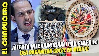 ¡ALERTA MUNDIAL! PAN pide a la OEA organizar Golpe en México!
