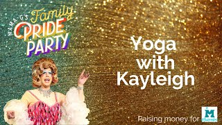 Yoga with Kayleigh at Mama G's Family Pride Party 2020