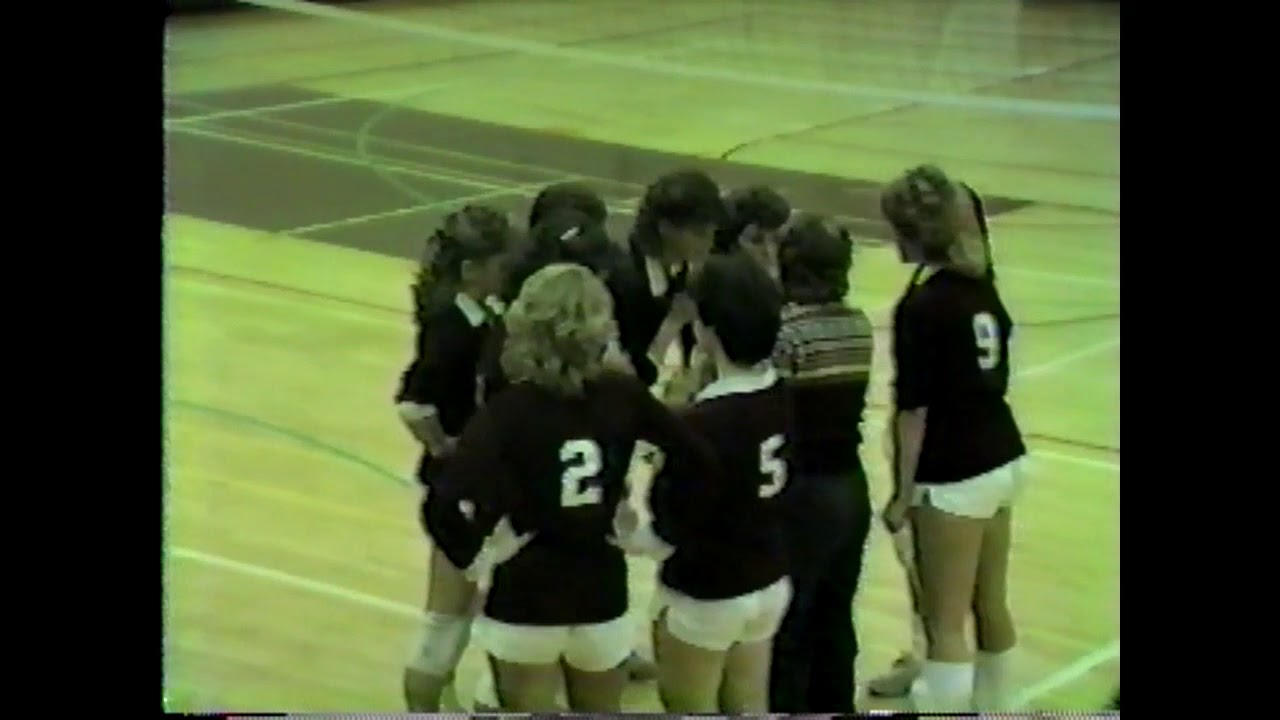 NCCS - Saranac Lake Volleyball part two  12-4-85