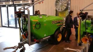 Opryskiwacze dwuwentylatorowe dla sadowników