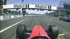 SCHUMACHER LONG RACE ONBOARD MAGNY-COURS 2004