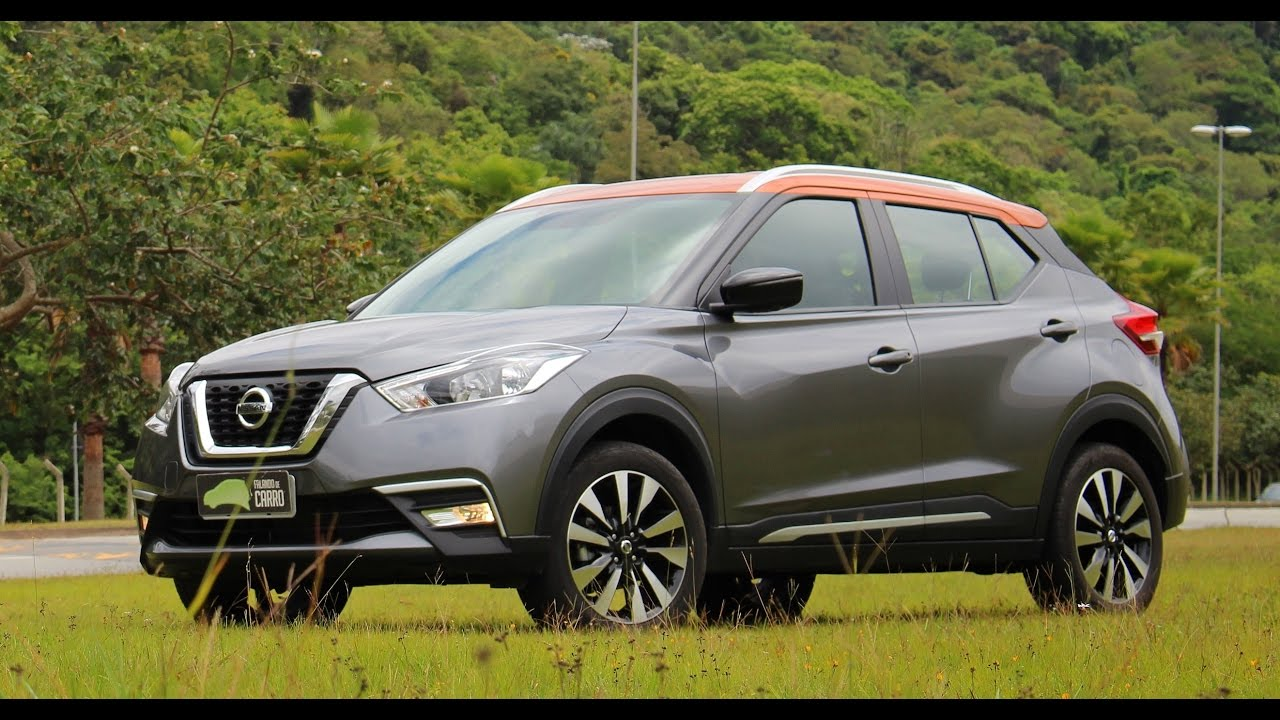 Testamos O Novo Nissan Kicks SL 2017 Falando De Carro
