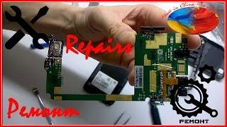 ремонт смартфона Fly iq4490i / Замена тачскрина / Smartphone Repair