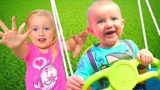Canción del Patio de Juegos | Canción Infantil | Canciones Infantiles con Katya y Dima