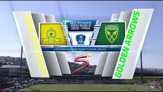 MultiChoice Diski Shield Final | Mamelodi Sundowns vs Golden Arrows