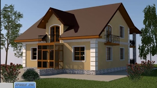 ARCHICAD  project home lessons 30.( Рендер красивой картинки)