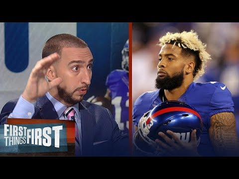 Odell Beckham Jr. is 'absolutely' playing vs. Lions - Giants rushing him back? | FIRST THINGS FIRST