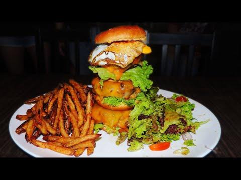 Empire Burger Challenge in Under 20 Minutes??