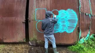 Граффити-туризм Tweso, Nan, Fisk