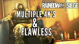 RAINBOW SIX SIEGE| ROAD TO GETTING FINKA & FLAWLESS (MULTIPLAYER/GAMEPLAY) PT.8