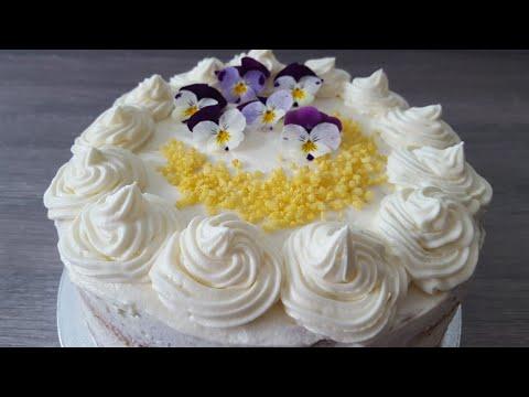 Lemon cream cheese frosting - cake icing