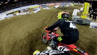 GoPro: Adam Enticknap 450 Main Event - 2019 Monster Energy Supercross from Indianapolis