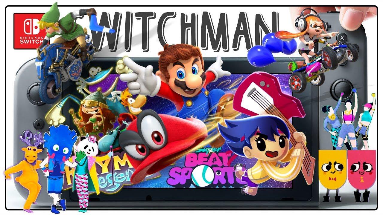 6 Juegos Para Ninos De Nintendo Switch Youtube