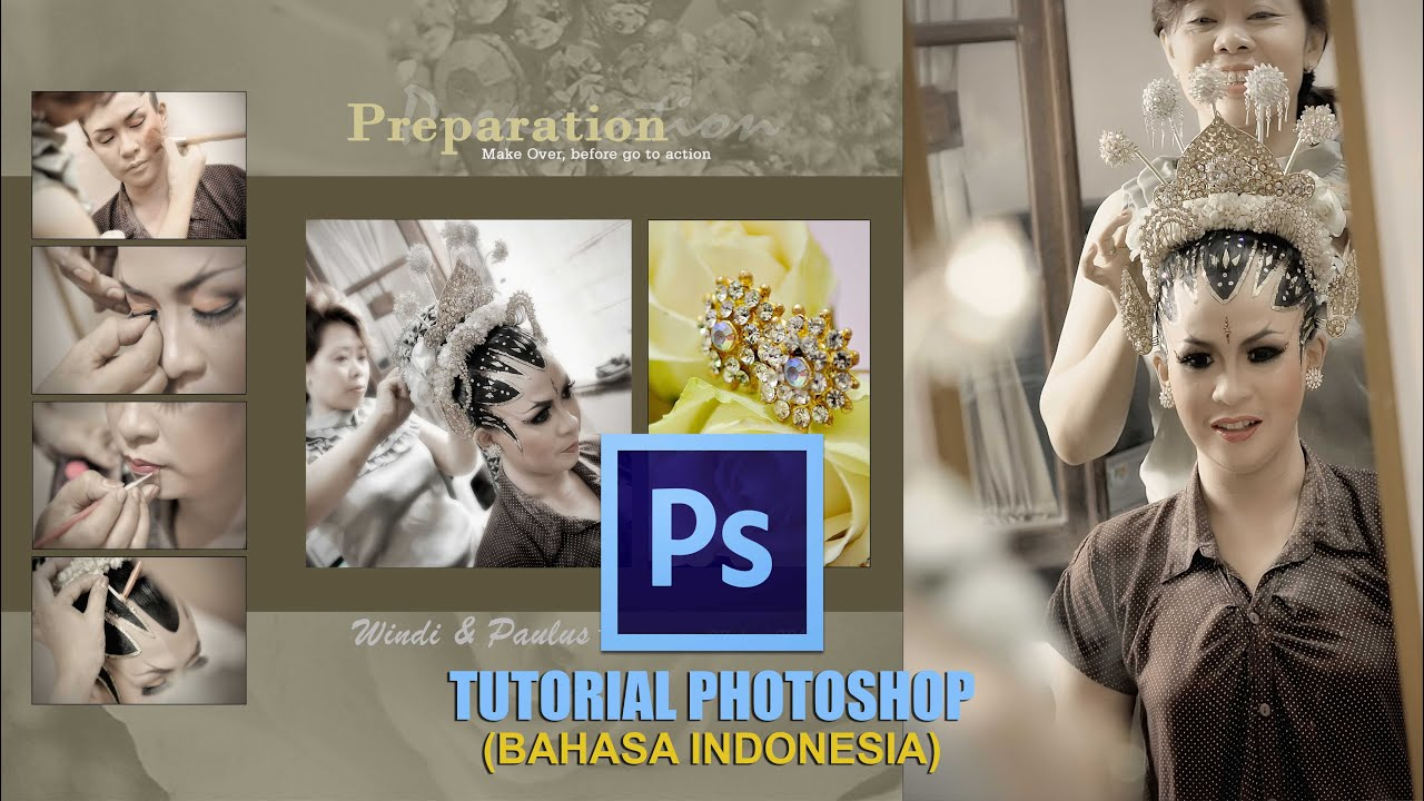 Cara Mudah Edit Kolase Foto Di Photoshop (Bahasa Indonesia ...