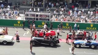 Formula 1 Mexico GP 2015 -  Desfile de pilotos