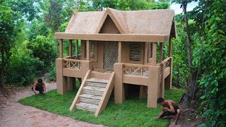 We Are Update unbelievable! bamboo House To Build A Amazing Modern Mud Design Villa For Rainy Season