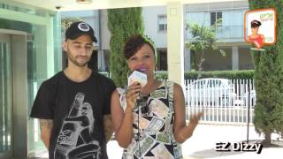 אליזט על הבוקר – הראפר  Elisete in the morning – Rapper EZ Dizzy