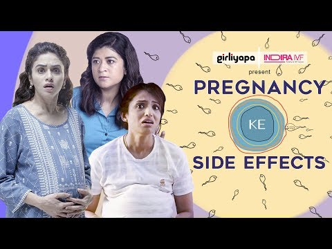 Pregnancy Ke Side Effects feat. Amruta Khanvilkar, Nidhi Bisht & Alefia Kapadia  | Girliyapa