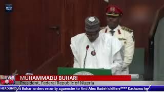 President Buhari presents budget proposal to NASS