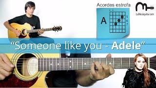 someone like you guitarra acordes como tocar someone like you de adele en guitarra