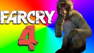 FARCRY 4 Momentos Engraçados: Animais e Asa Deltas me odeiam!