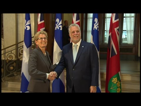 What does a cap-and-trade agreement between Quebec & Ontario mean?