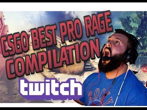 CS GO - BEST TWITCH PRO RAGE COMPILATION  (M0e,Dazed,Steel & More)